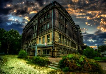 Het oude pensioenbureau in Dortmund van Johnny Flash