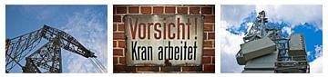 Collageenkranen 1 van Norbert Sülzner