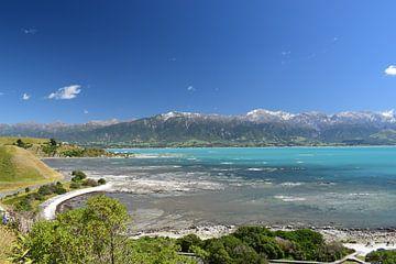 Kaikoura, Nieuw-Zeeland tijdens een heldere dag von Bianca Bianca
