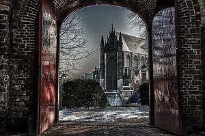 De Lutherse kerk te Leiden