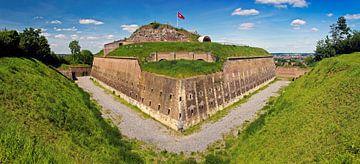 Panorama Fort st. Pieter te Maastricht van