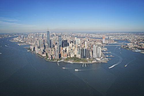 Manhattan, New York - Skyline van