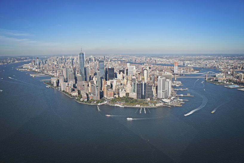 Manhattan, New York - Skyline van Kramers Photo