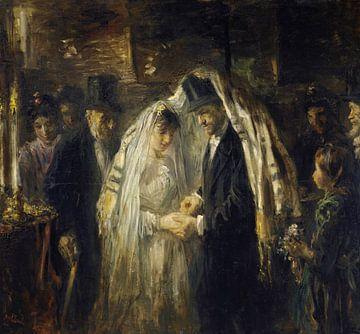 Joodse bruiloft, Jozef Israëls