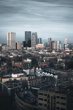 Rotterdam Skyline centrum van vedar cvetanovic