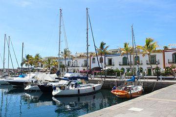 Hafen von Puerto de Mogán auf Gran Canaria Spanien. von Marvin Taschik