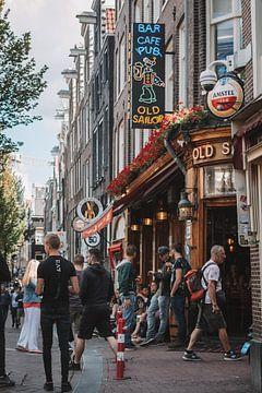 Old Sailor Bar in Amsterdam von Rolf Heuvel