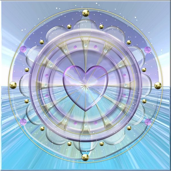 Mandala Het Hart van Shirley Hoekstra