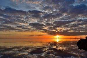 Zomerse zonsopkomst van