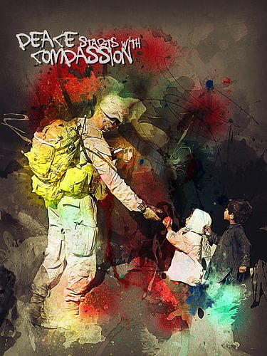 Peace starts with compassion