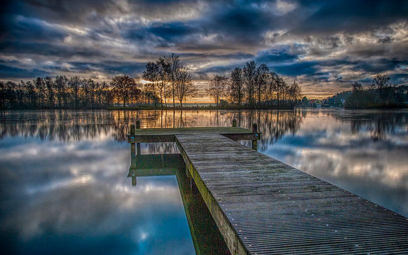 Sunrise  van Reint van Wijk