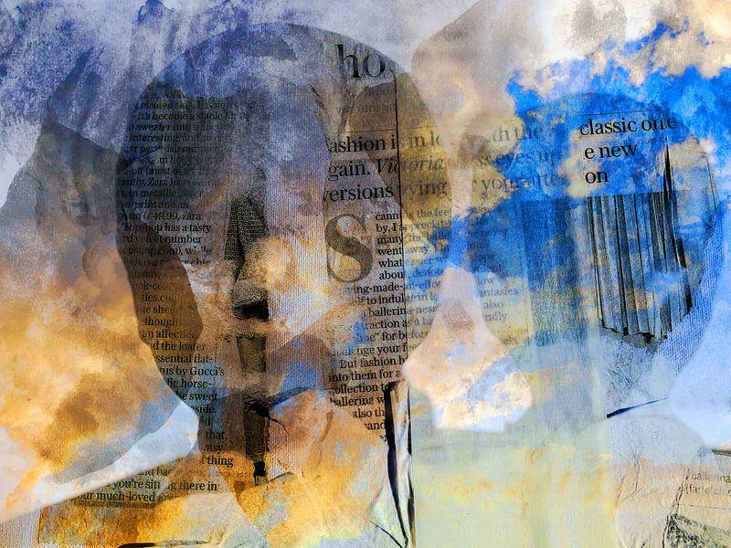 Broken angels in heaven van Gabi Hampe