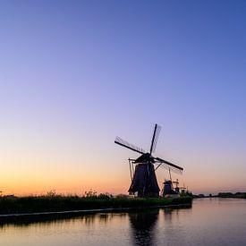 Les moulins à vent de Kinderdijk sur Michel Knikker