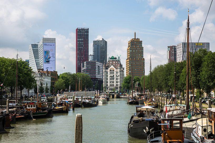 De Oude Haven in Rotterdam van MS Fotografie   Marc van der Stelt