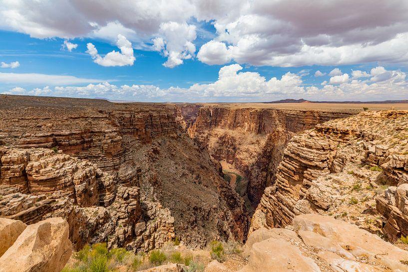 De diepte van de Little Colorado Rivier van Remco Bosshard