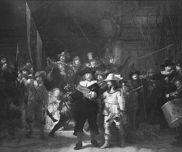 De Nachtwacht - Rembrandt sur