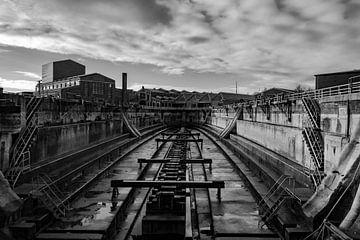Dock alten Reiches. von Randy Riepe