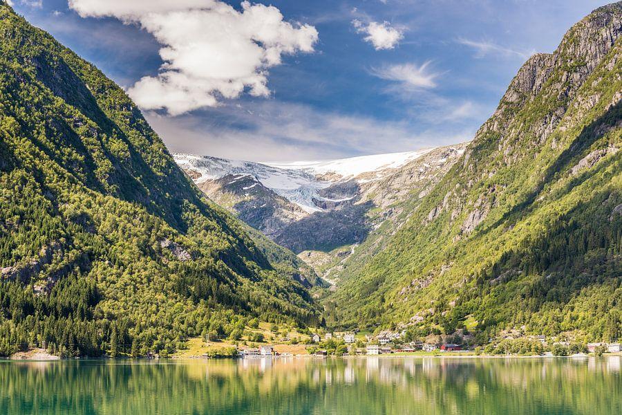 Fjorden van Noorwegen