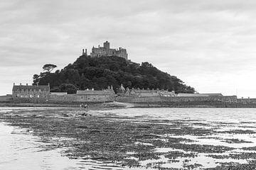 Saint Michael's Mount kasteel in Cornwall, Engeland. von Marcel van den Bos
