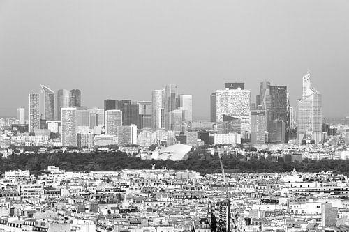 De wolkenkrabbers van La Défense in Parijs van MS Fotografie