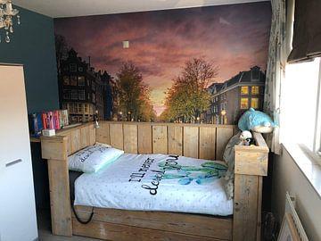 Klantfoto: Amsterdamse grachten van Martijn Kort