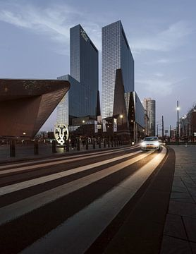 Centraal station Rotterdam - Cityscape wall art van Olivier Bessems Photography