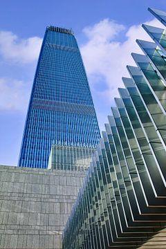 China World Trade Center, hoogste gebouw Peking van Tony Vingerhoets