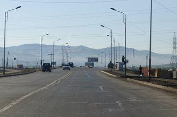 weg in mongolie van Robert Lotman