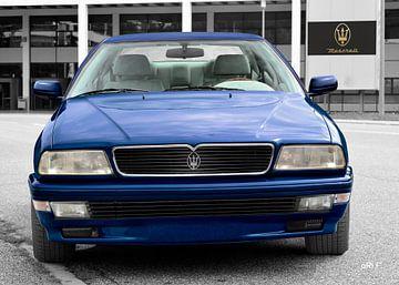Maserati Quattroporte IV in original blue von aRi F. Huber