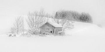 Winterlandschaft in der Allgaü von Annie Keizer