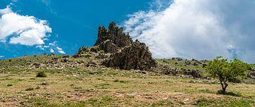 Berg op een berg van Roland's Foto's