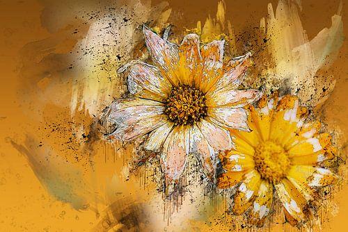 Sunflowers van Harry Stok