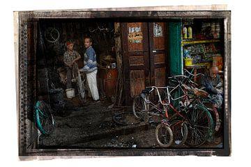 Fietsenwinkel Egypte van Lein Kaland