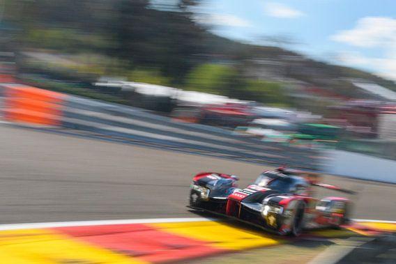 Audi R18 e-tron quattro Le Mans Prototype race van Sjoerd van der Wal