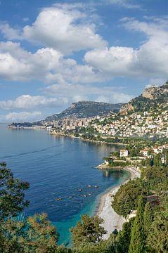 Vue de Monaco sur Peter Eckert