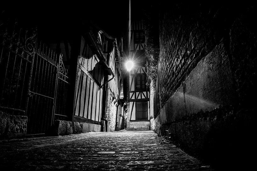 Donkere steeg van Van Renselaar Fotografie