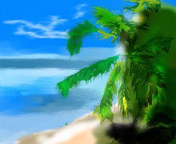 Beach Palm van l'artiste passionné l'artiste