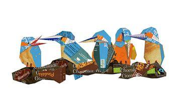 Eisvogel-Quintett von Ruud van Koningsbrugge