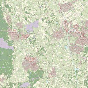 Kaart vanWierden
