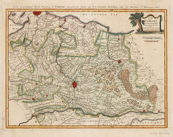 Carte von Utrecht