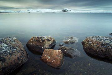 Skiftessjøen, Hardangervidda Nationaal Park, Noorwegen van Gerhard Niezen Photography