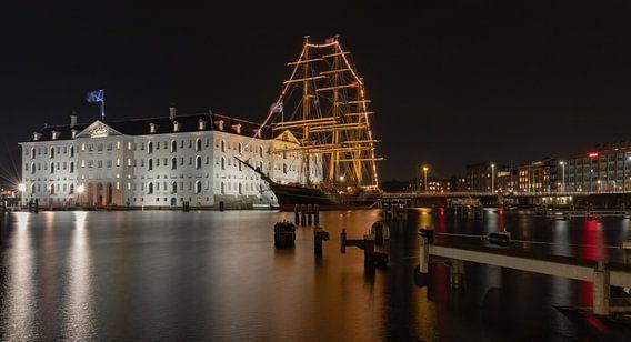 Het scheepvaartmuseum...