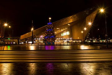Kerstmis bij Centraal Station Rotterdam sur Charlene van Koesveld