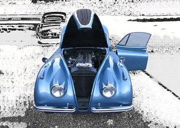 Jaguar XK 120 van aRi F. Huber