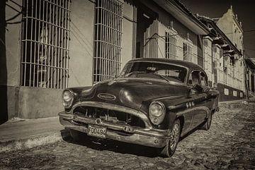 Oldtimer auto in de straten van Havana, Cuba von Original Mostert Photography