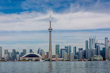 Skyline van Toronto van Stephan Neven