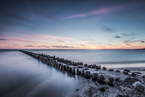 Sereen uitzicht op het IJsselmeer 1 van