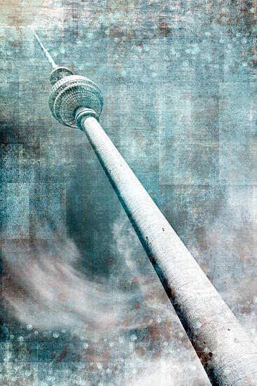 City-Art BERLIN Television Tower II van Melanie Viola
