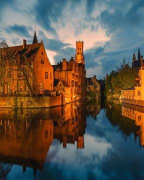 Rosenhut-Kai in Brügge, Belgien von Henk Meijer Photography