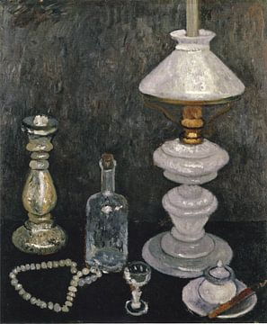 Paula Modersohn-Becker. Nature morte avec des lampes en verre
